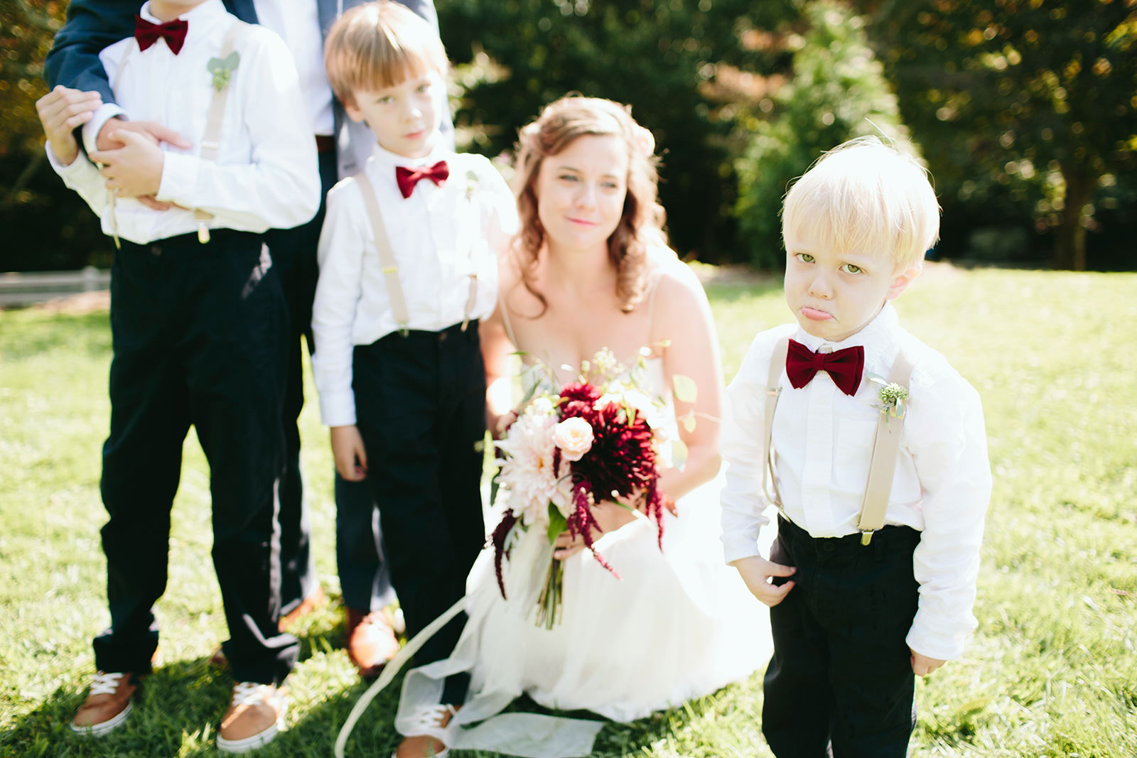 funny kids at weddings