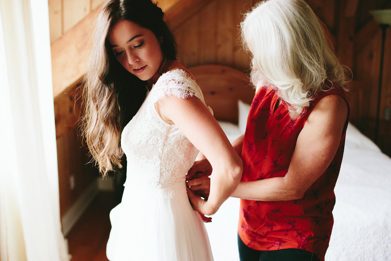 wildflower bridal dress