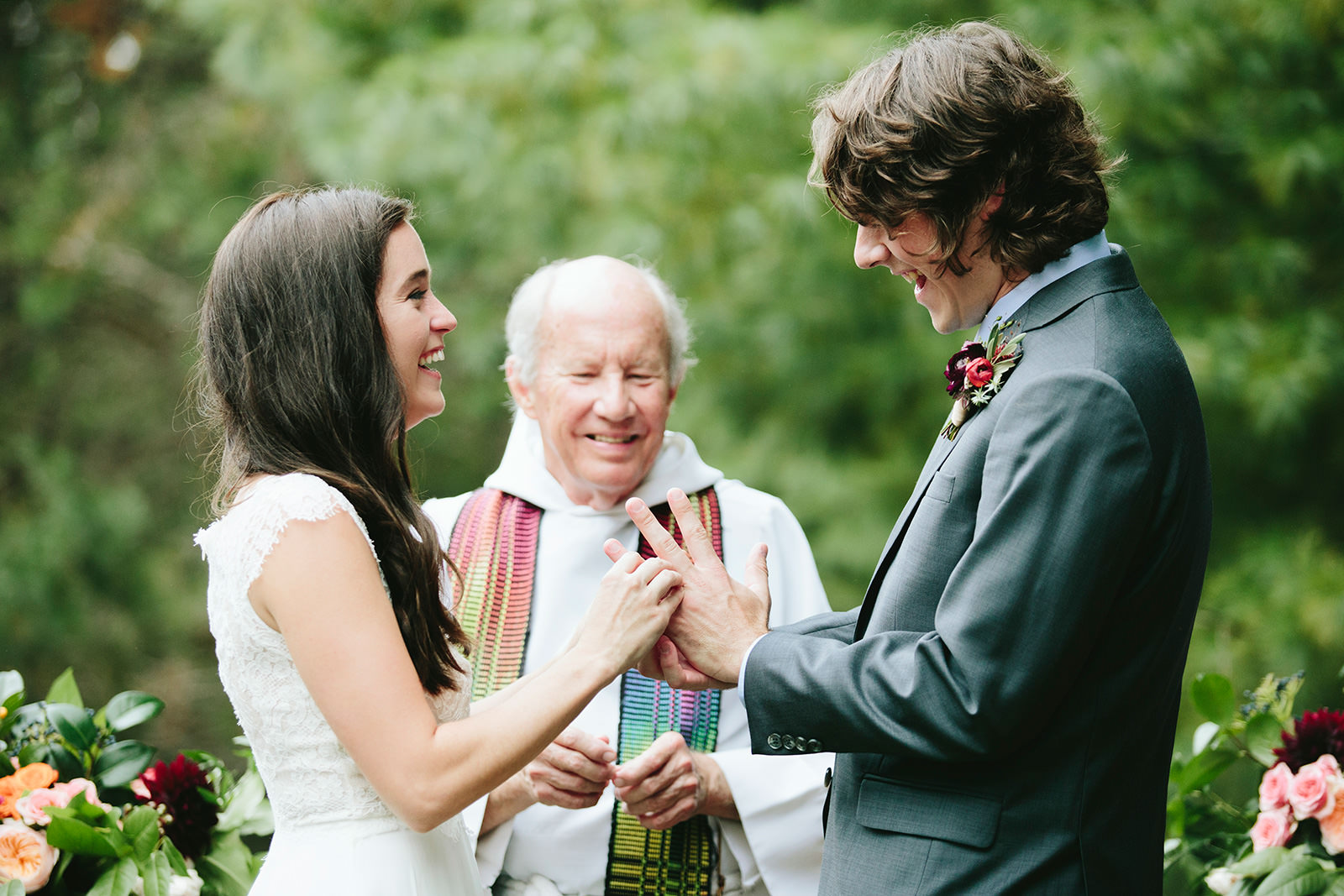 asheville boho wedding