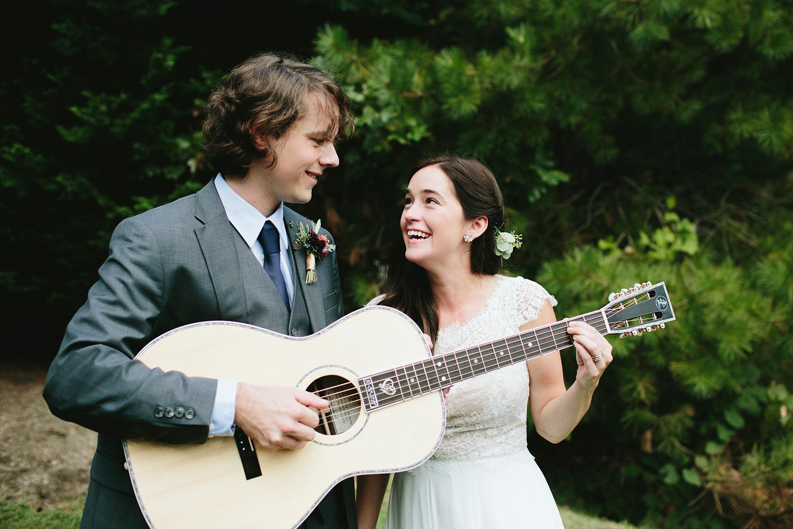 ideas for musicians wedding