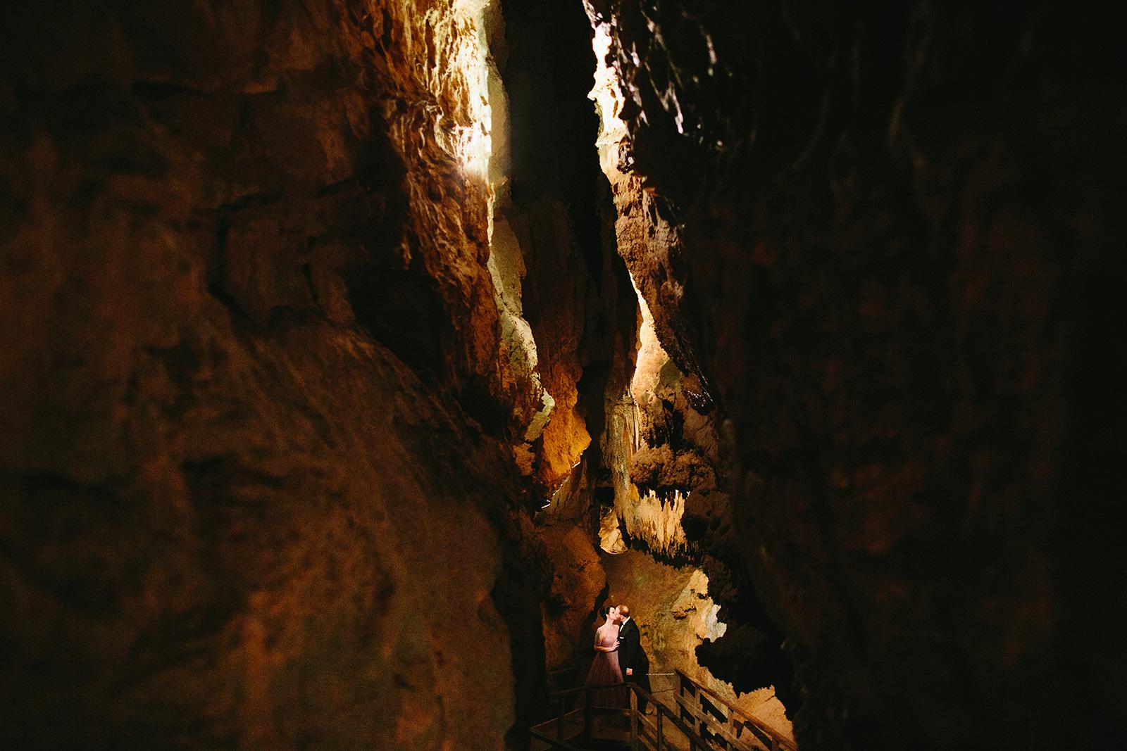 natural bridge cavern wedding photos