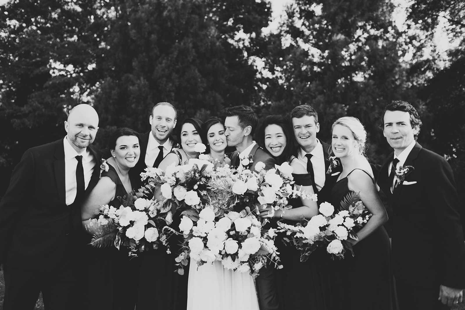 navy bridal party ideas