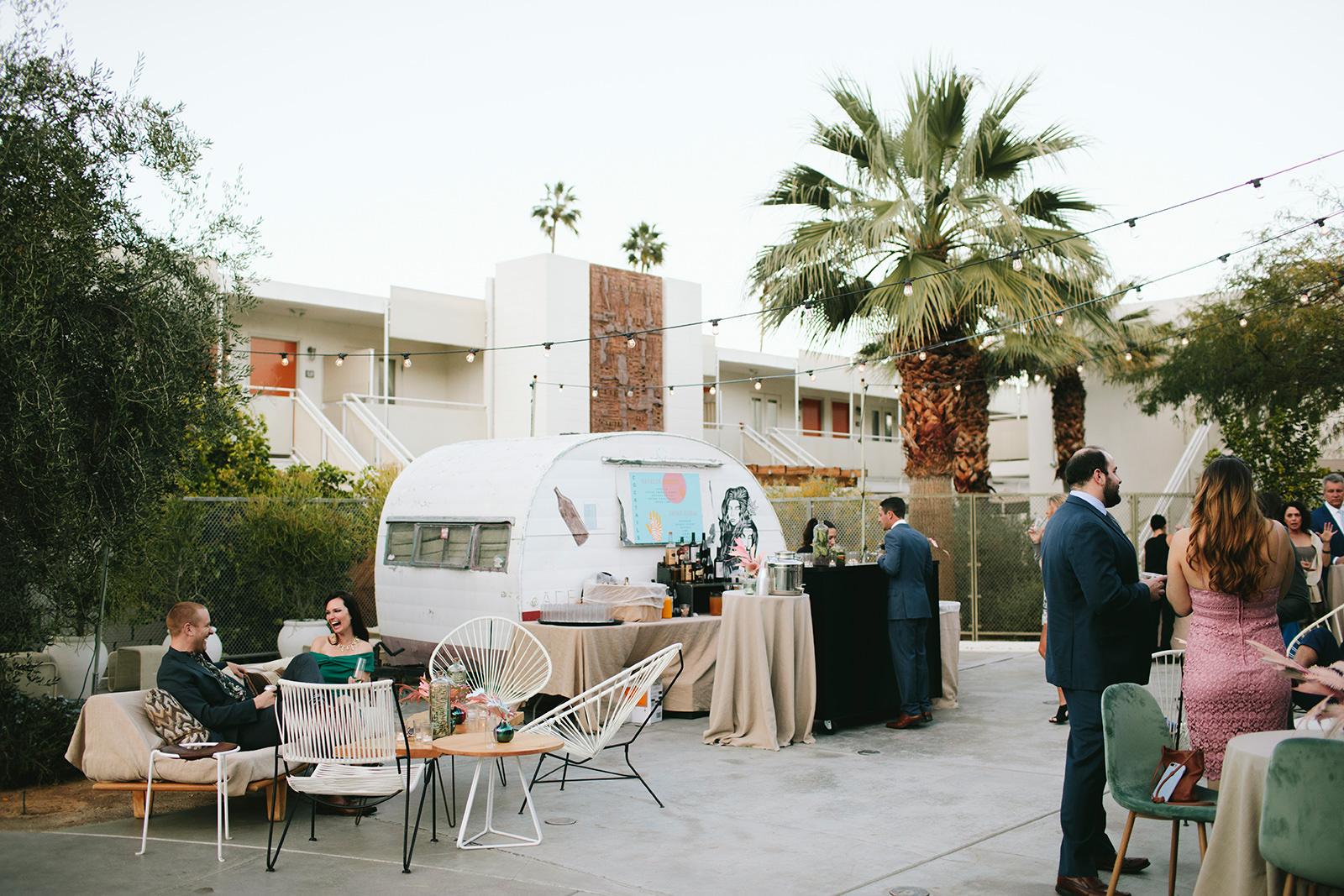 modern colorful wedding ideas
