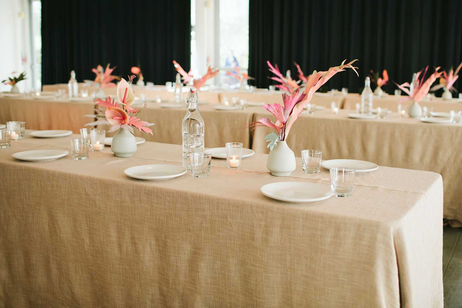 alternative floral arrangement wedding centerpieces