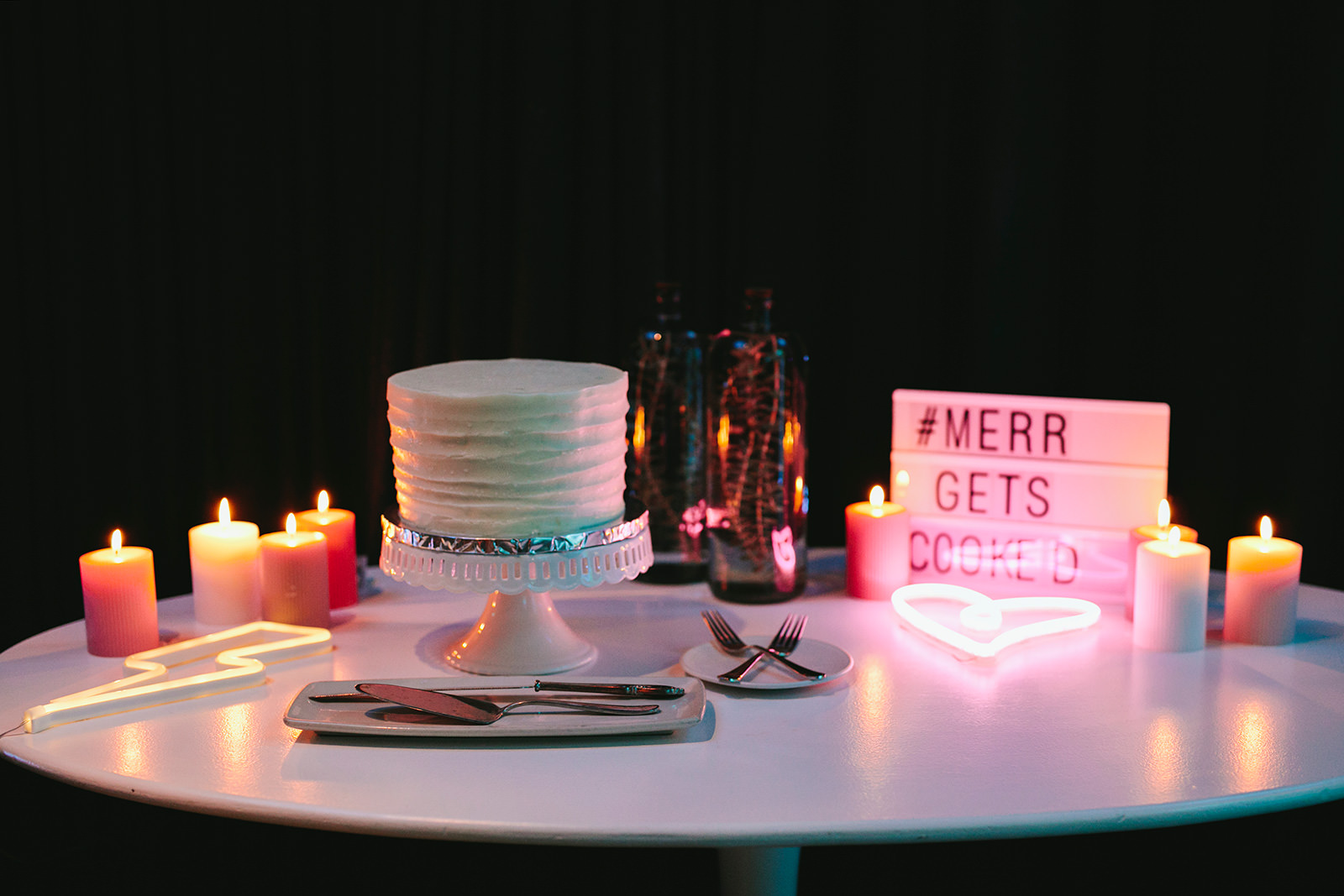 neon wedding ideas