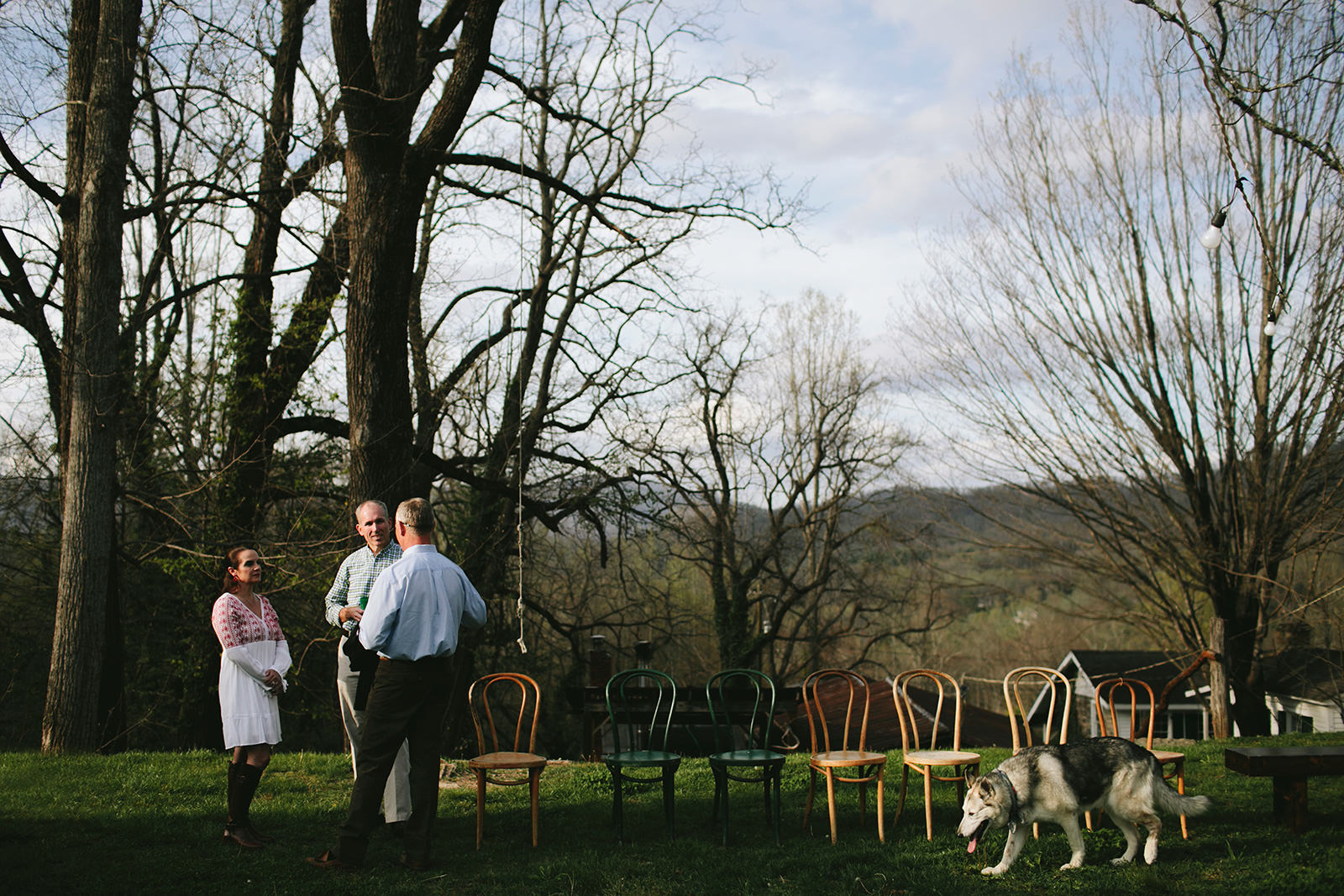 outdoor ceremony location asheville