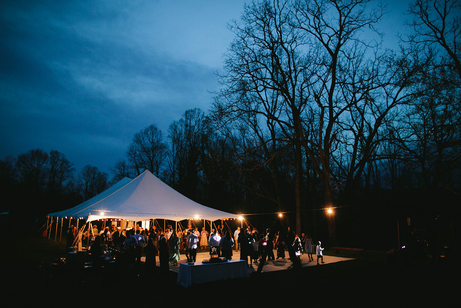 tented wedding venue asheville