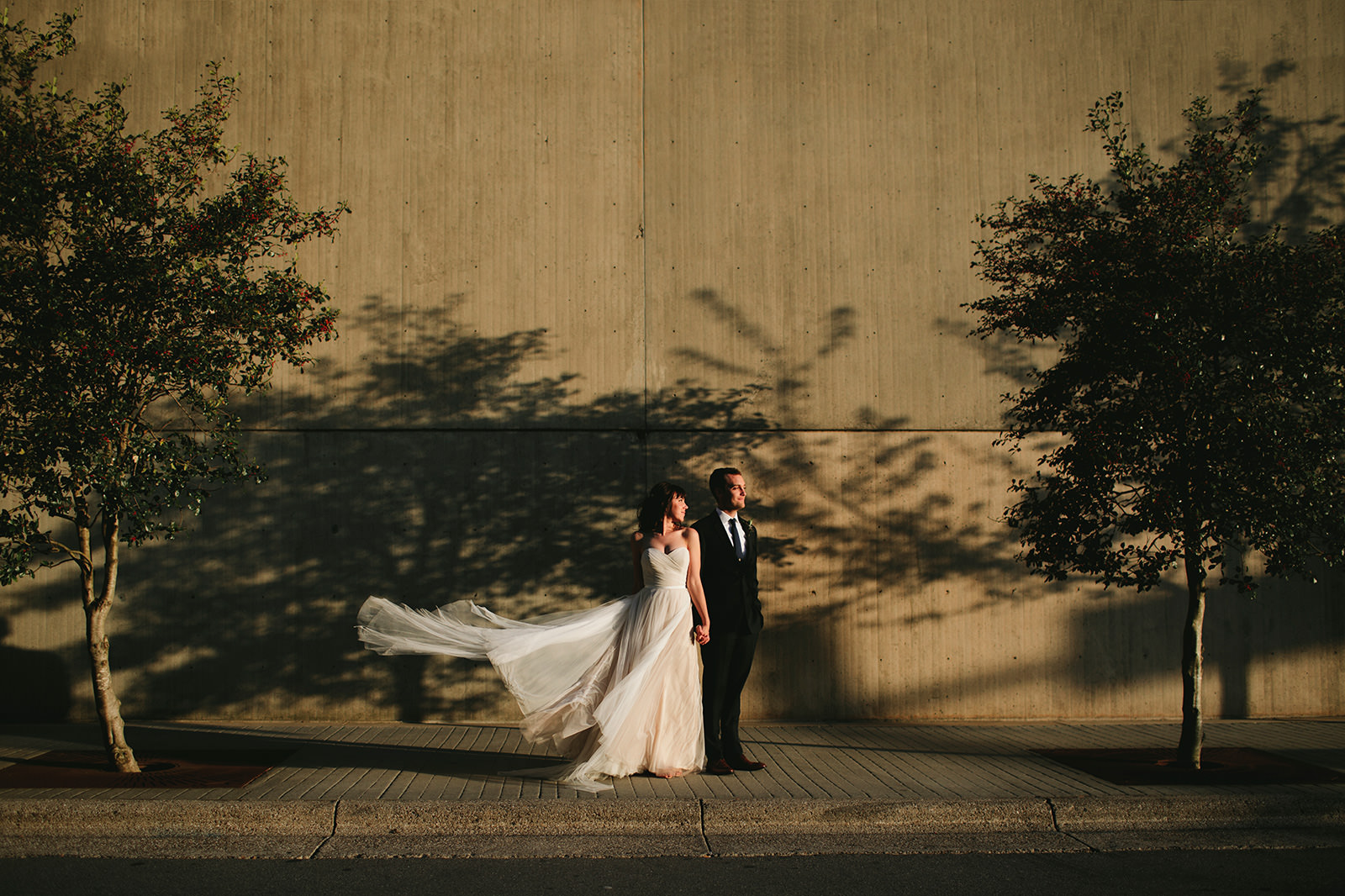 downtown asheville wedding photos