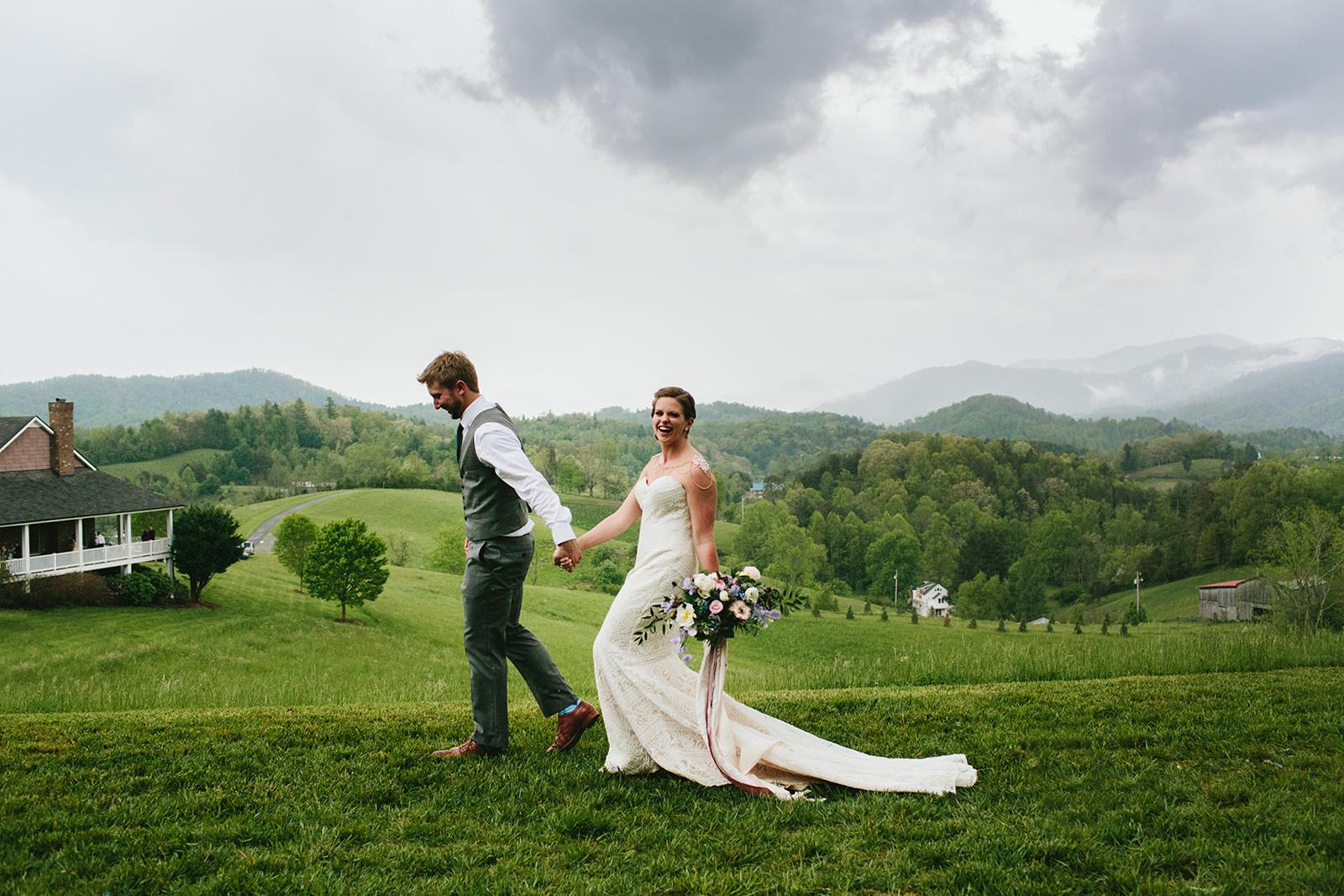 mountain view wedding north carolina