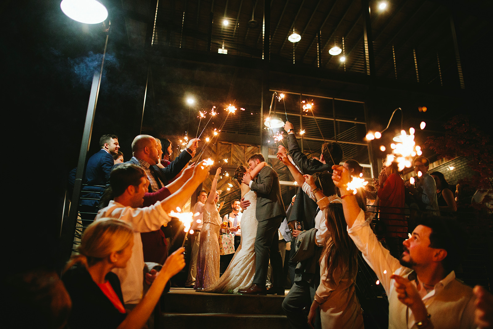 highland brewery wedding photos