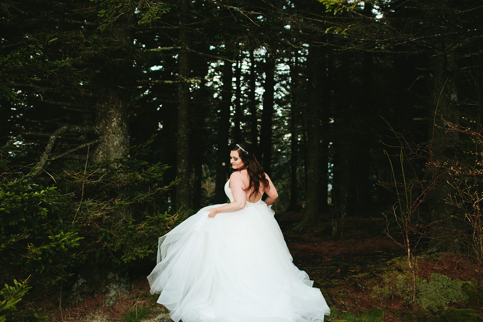 bridal portraits asheville
