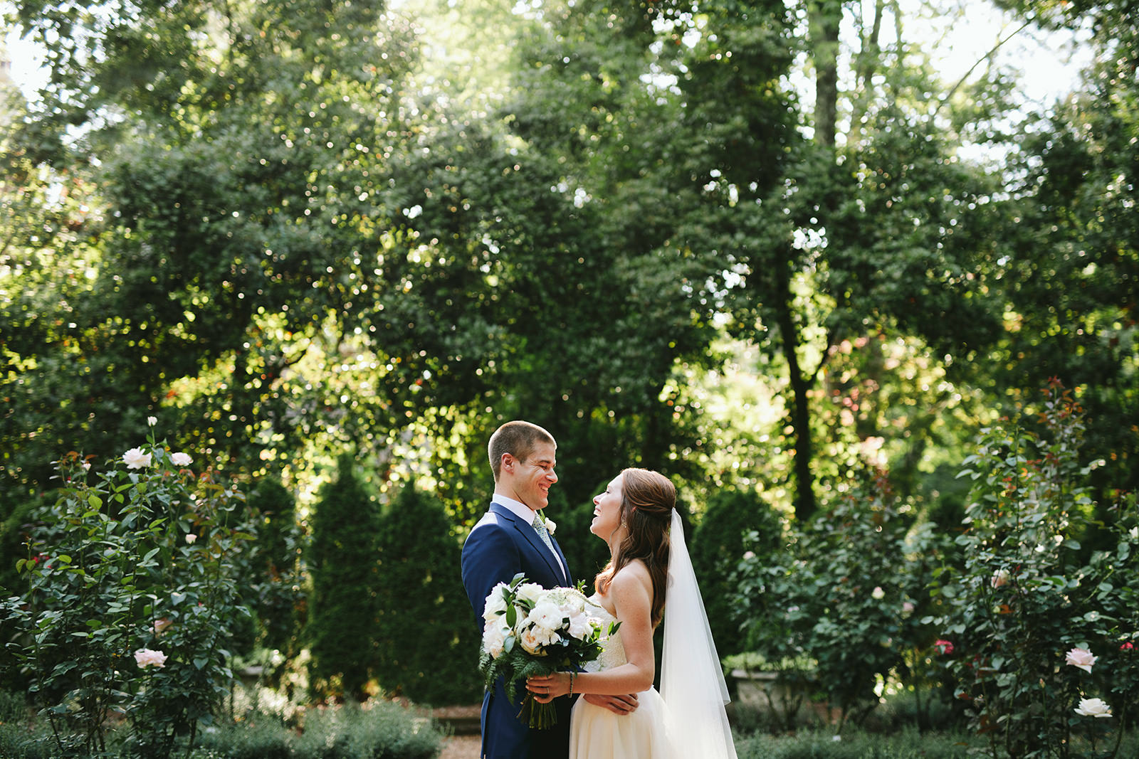 duke mansion garden wedding