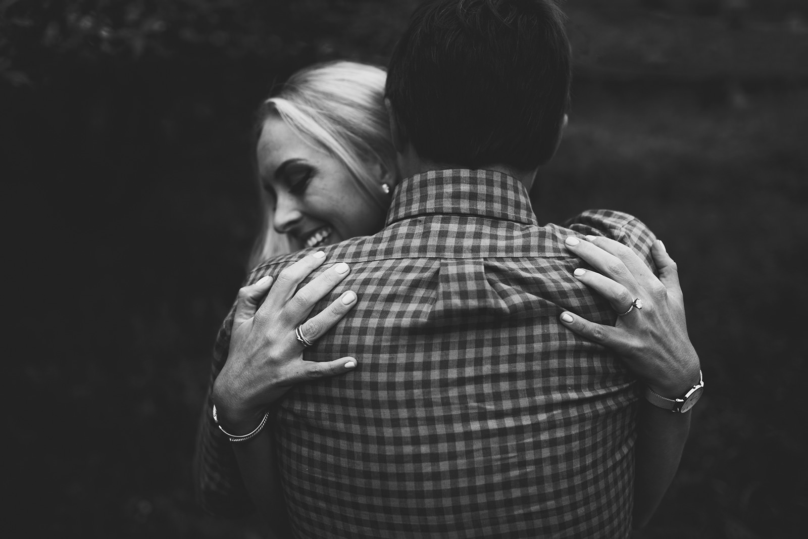 carvers gap engagement photos