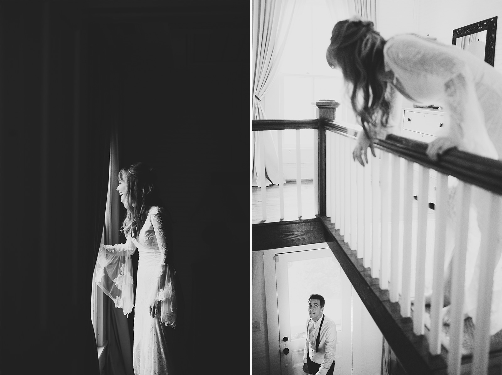 moody wedding photos durham
