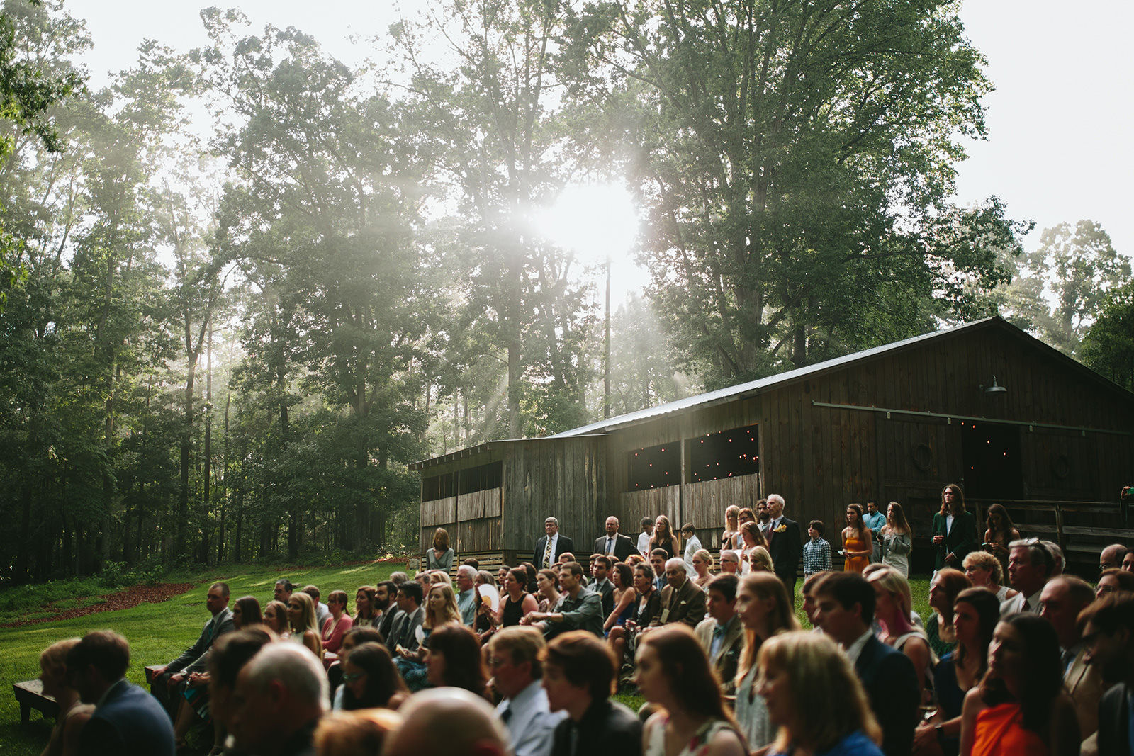 outdoor wooded wedding venues durham
