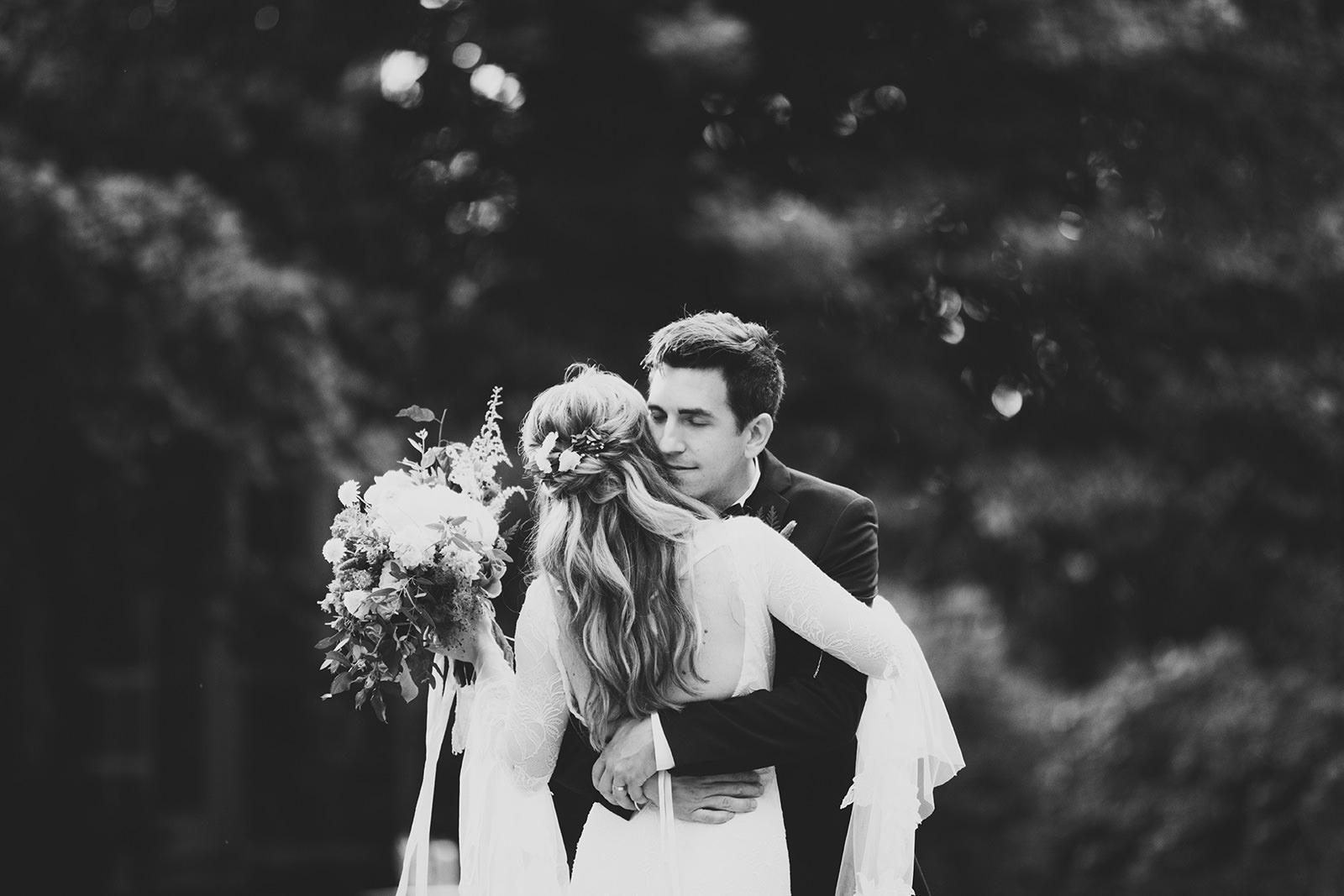 dramatic wedding photographer asheville