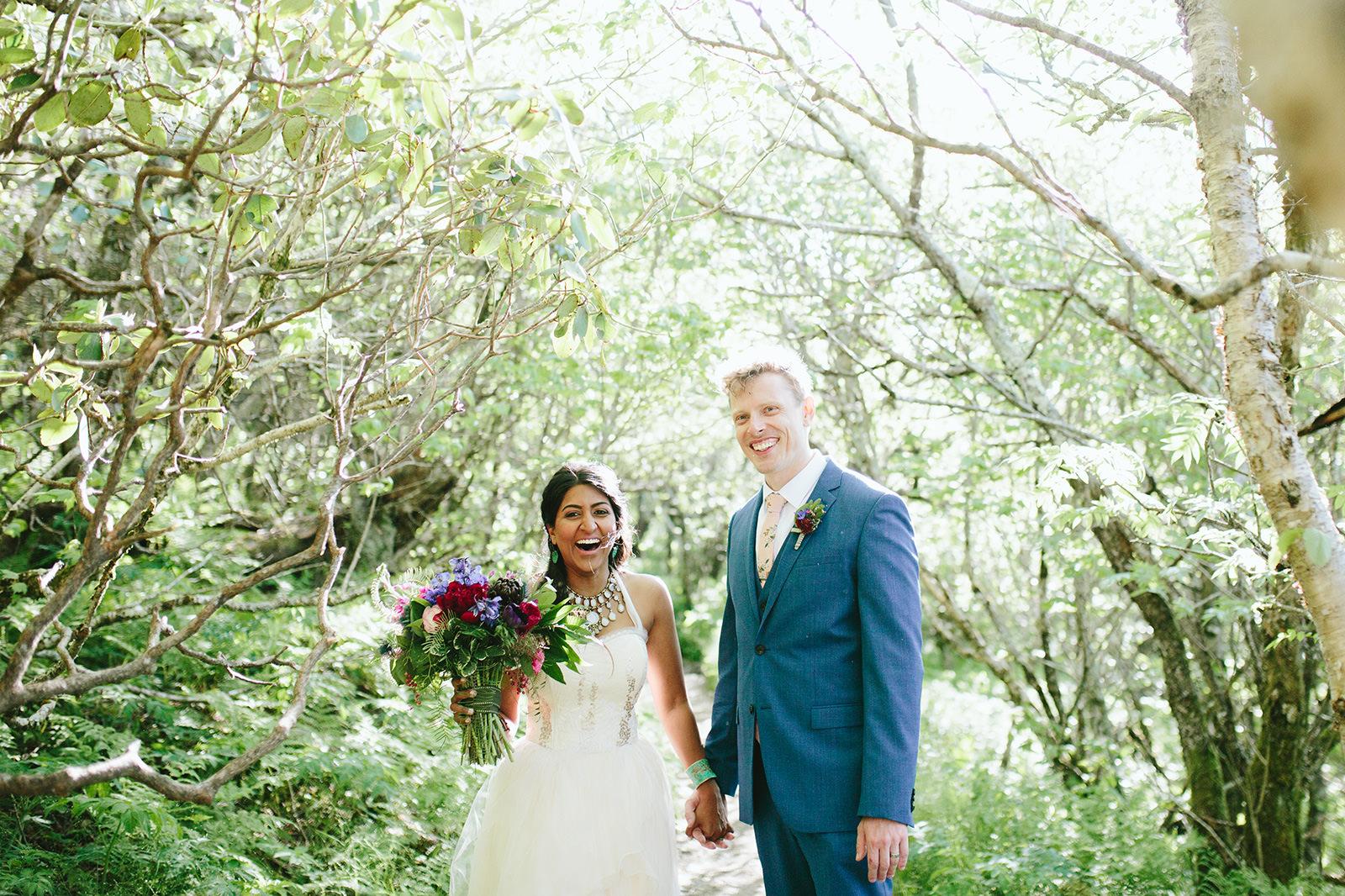 elopement photos asheville nc