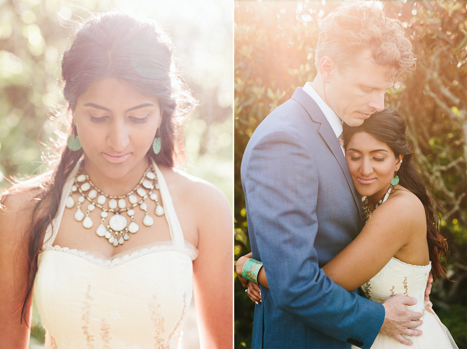 boho bridal style asheville
