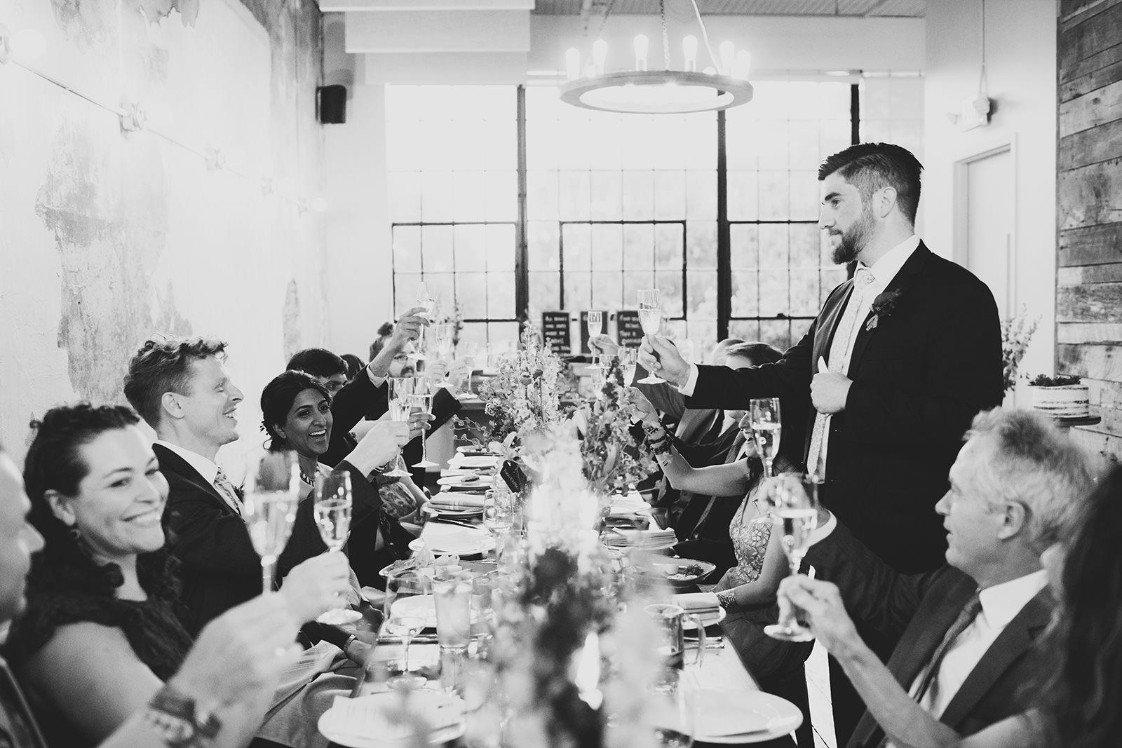 rhubarb wedding space