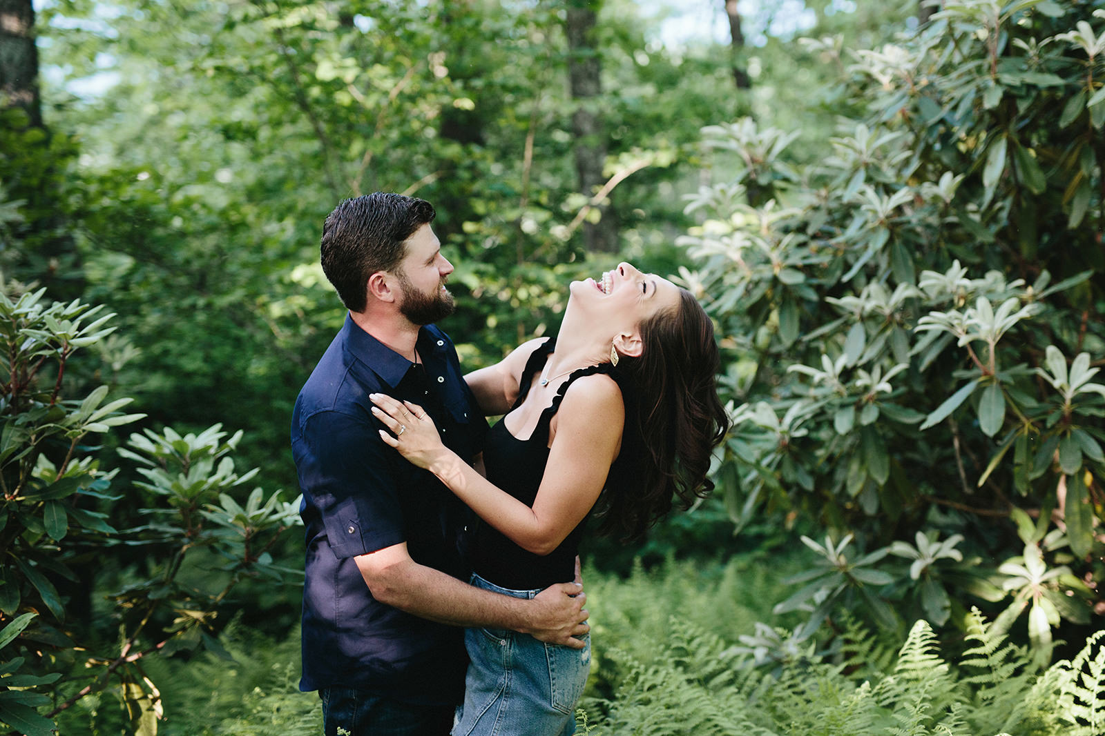 linville engagement photos