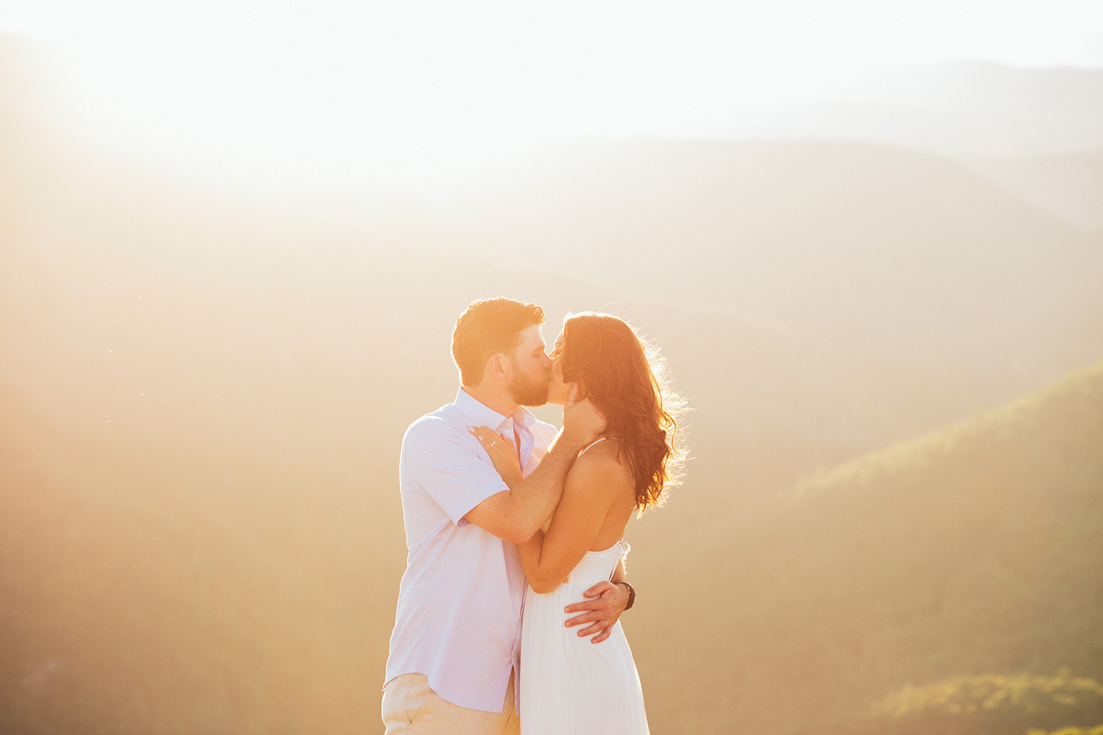 asheville mountain elopement photos