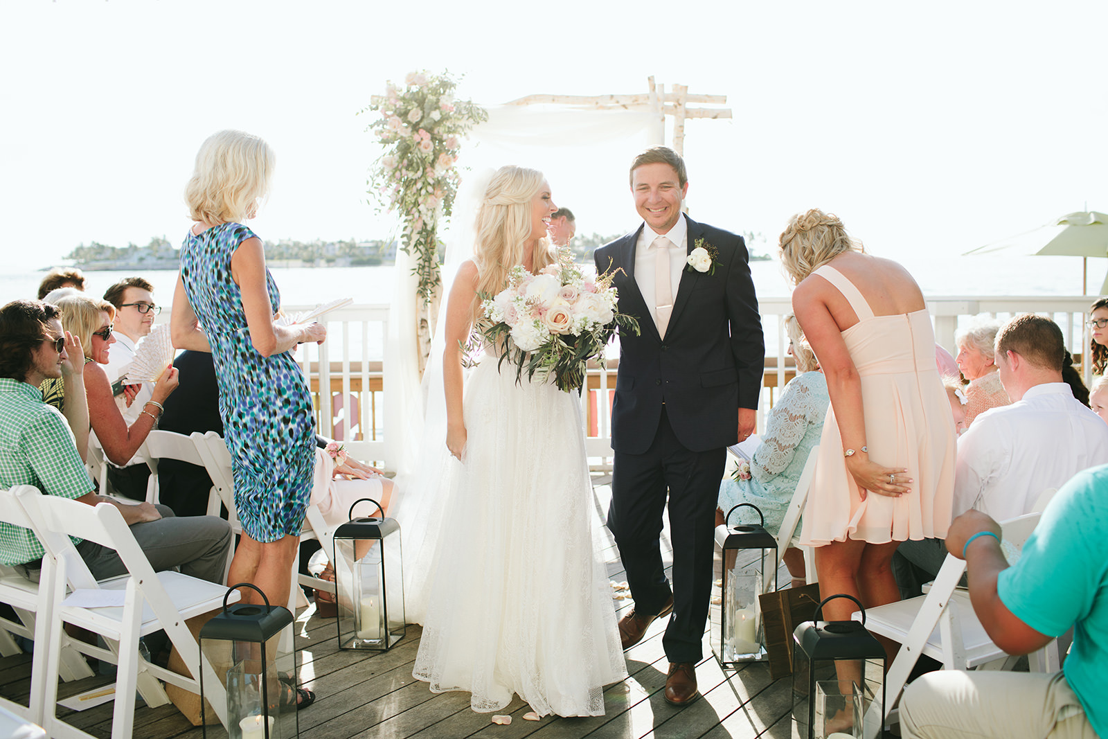 ocean key resort wedding ceremony