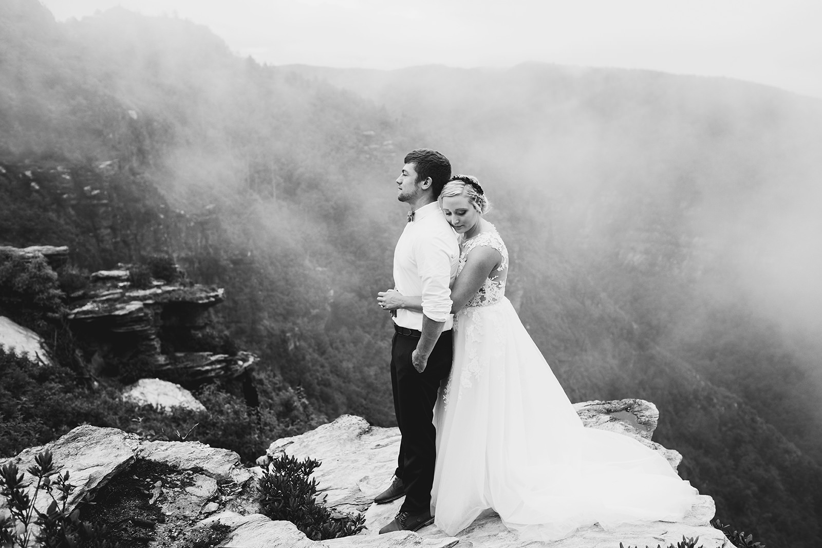 wnc elopement mountain