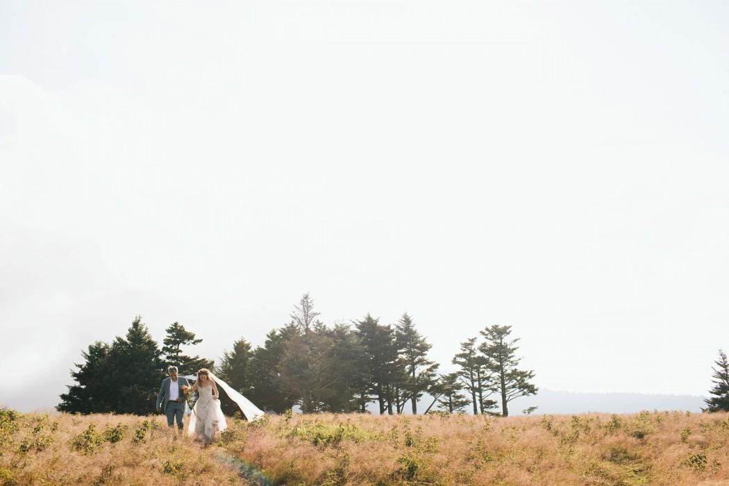 mountaintop elopement in asheville nc