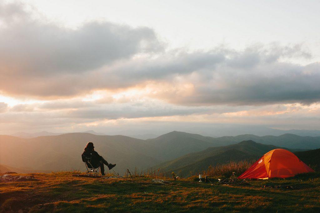 camping black balsam knob