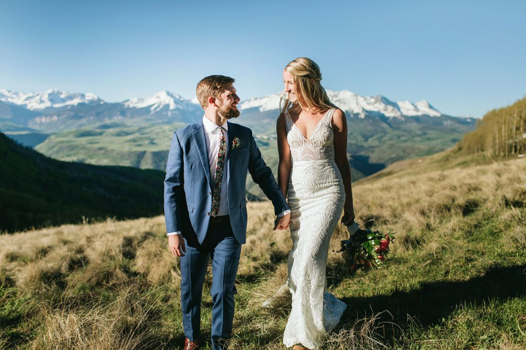 wedding photography telluride