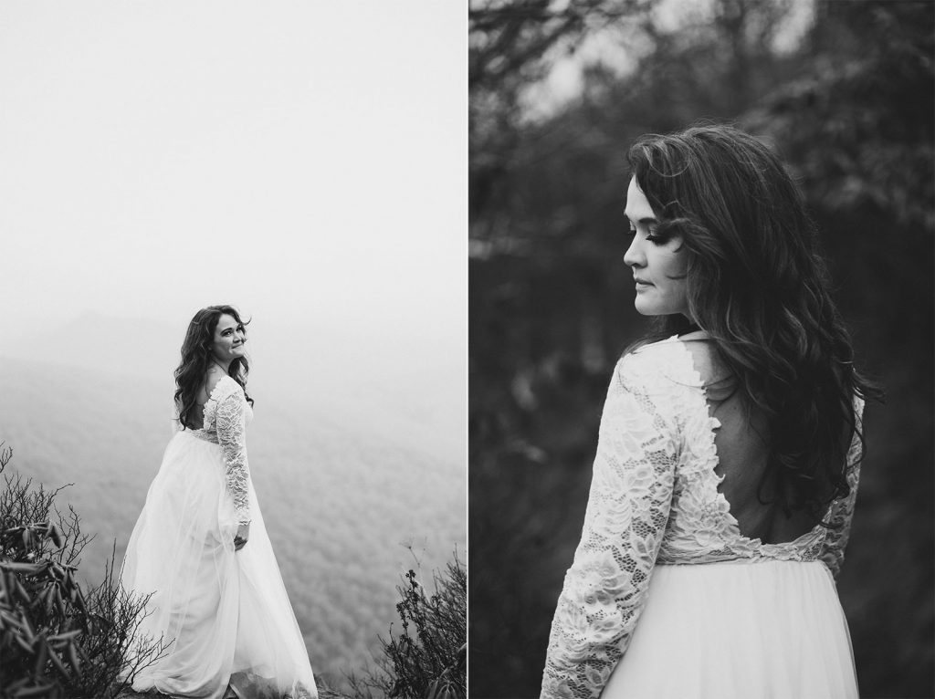 bohemian bride asheville