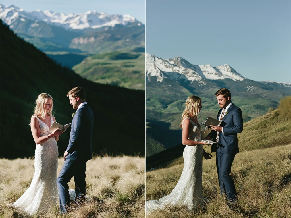 telluride elopement photos