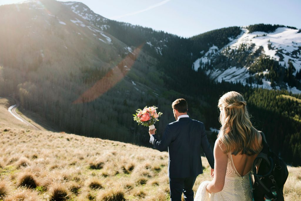 hiking elopement telluride