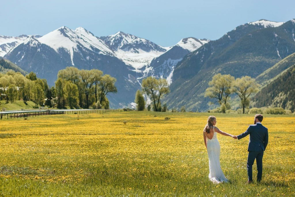 telluride meadow elopement