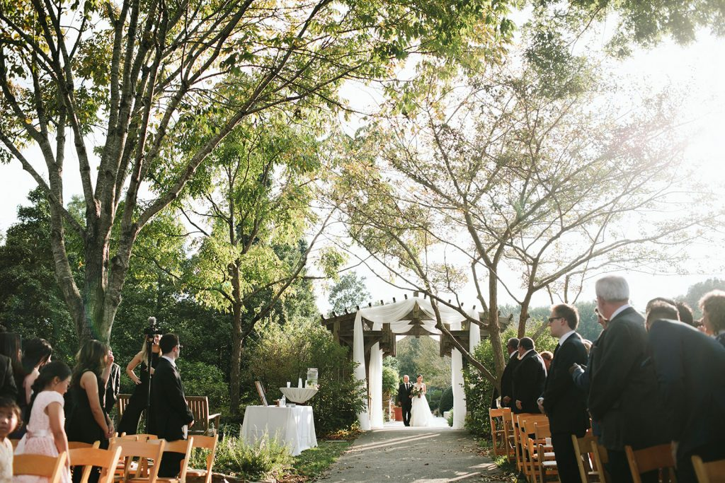 arboretum wedding ceremony locations