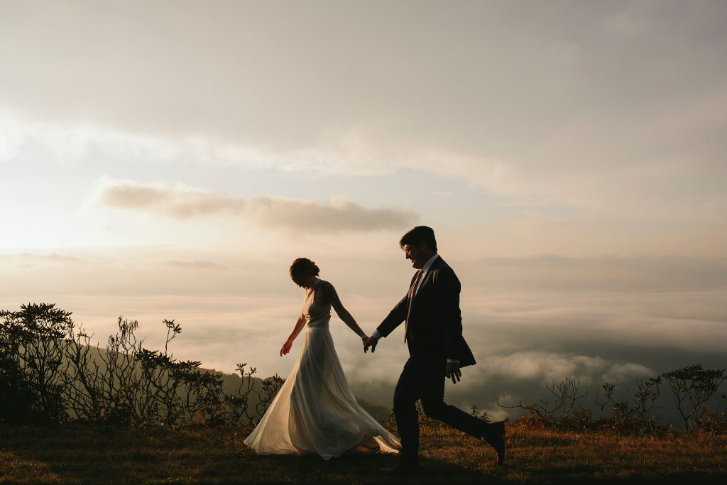 elopement locations with mountain views asheville