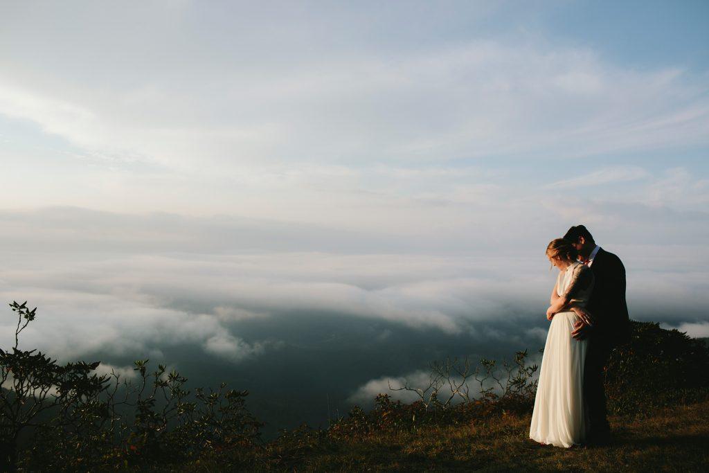asheville elopement photography