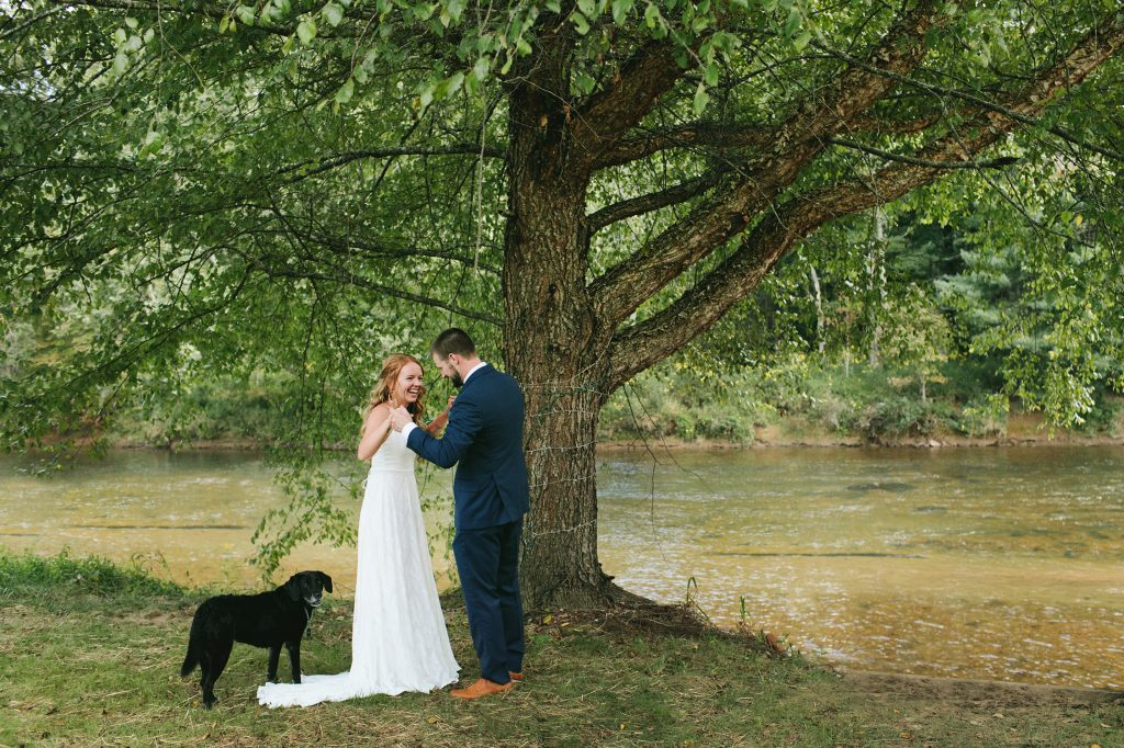 asheville wedding venues on the river