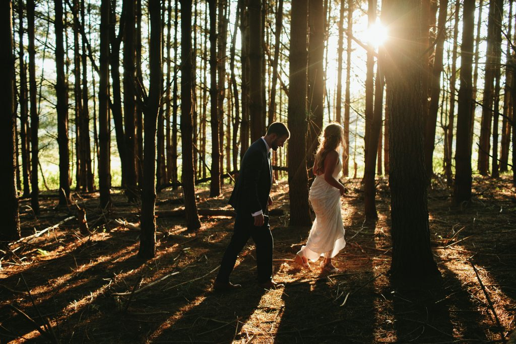 wooded wedding venue asheville
