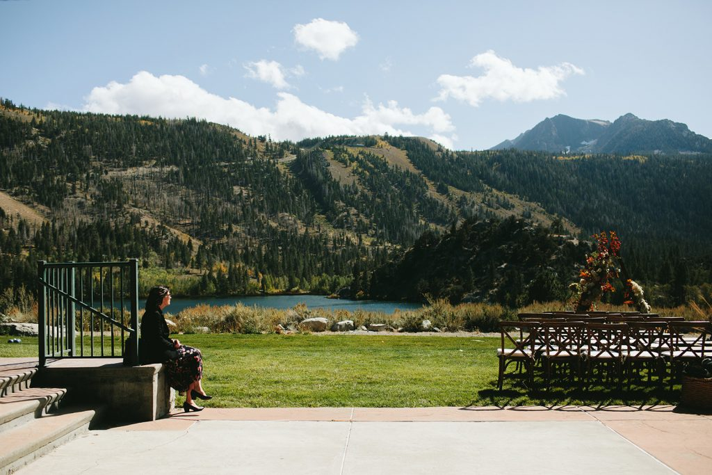 Mountain views wedding venue june lake ca