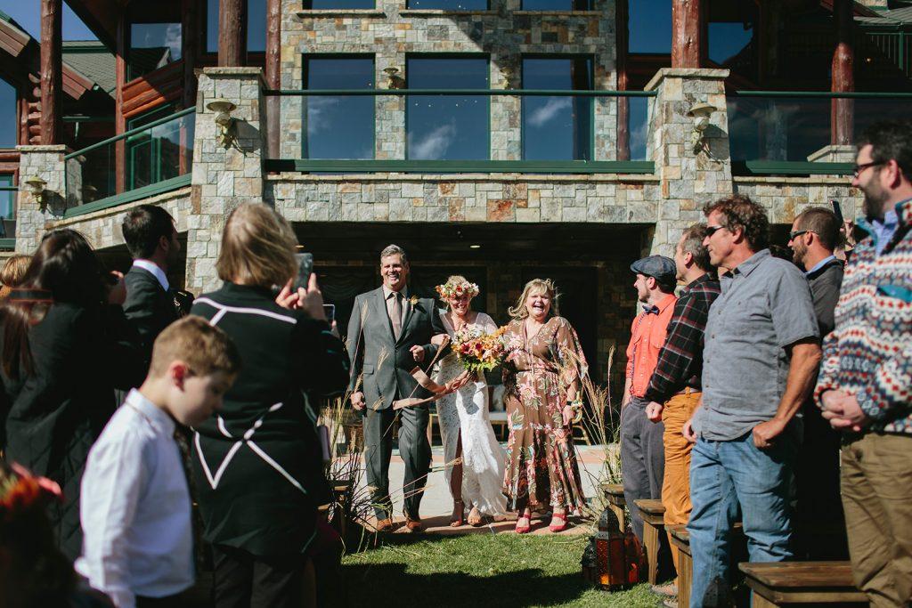 outdoor wedding venue in mammoth lakes