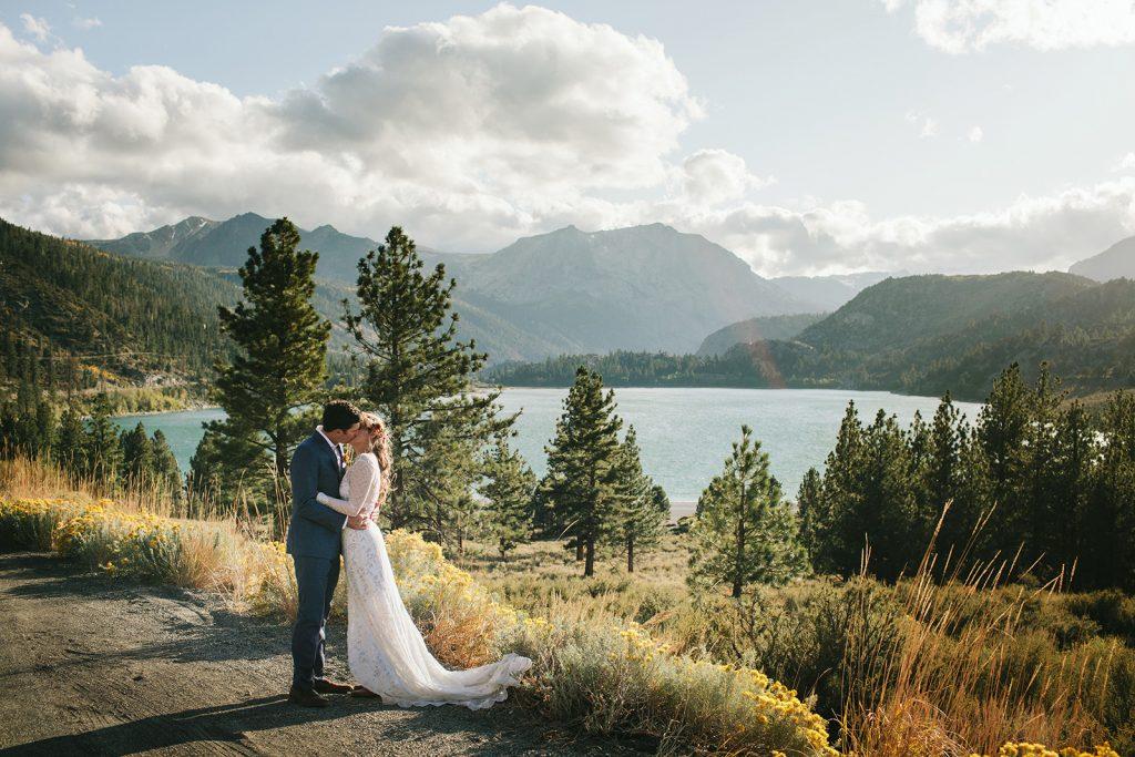 june lake wedding photography
