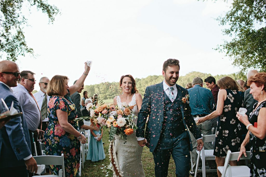 the meadows at firefly farm wedding