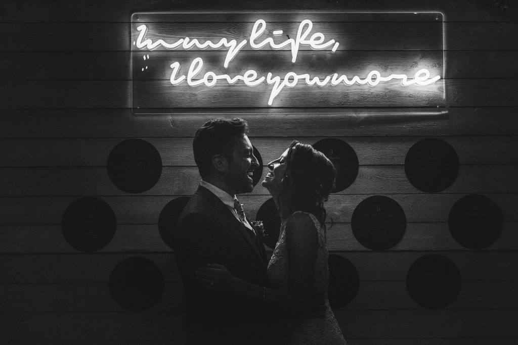 custom neon sign wedding
