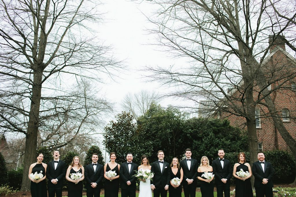 merrimon wynne bridal party photos