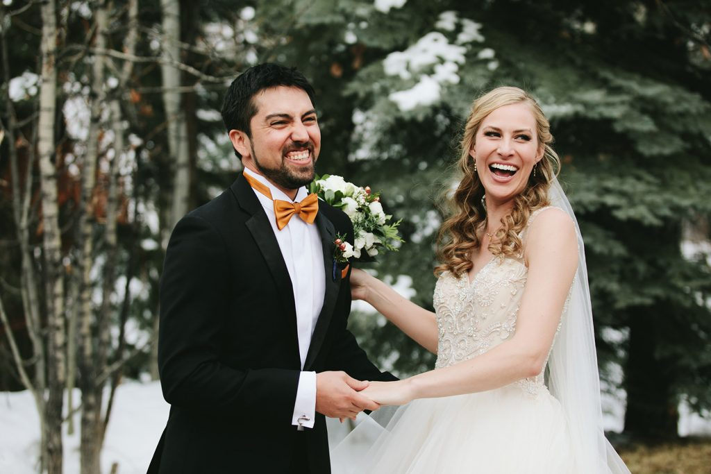 winter wedding in denver