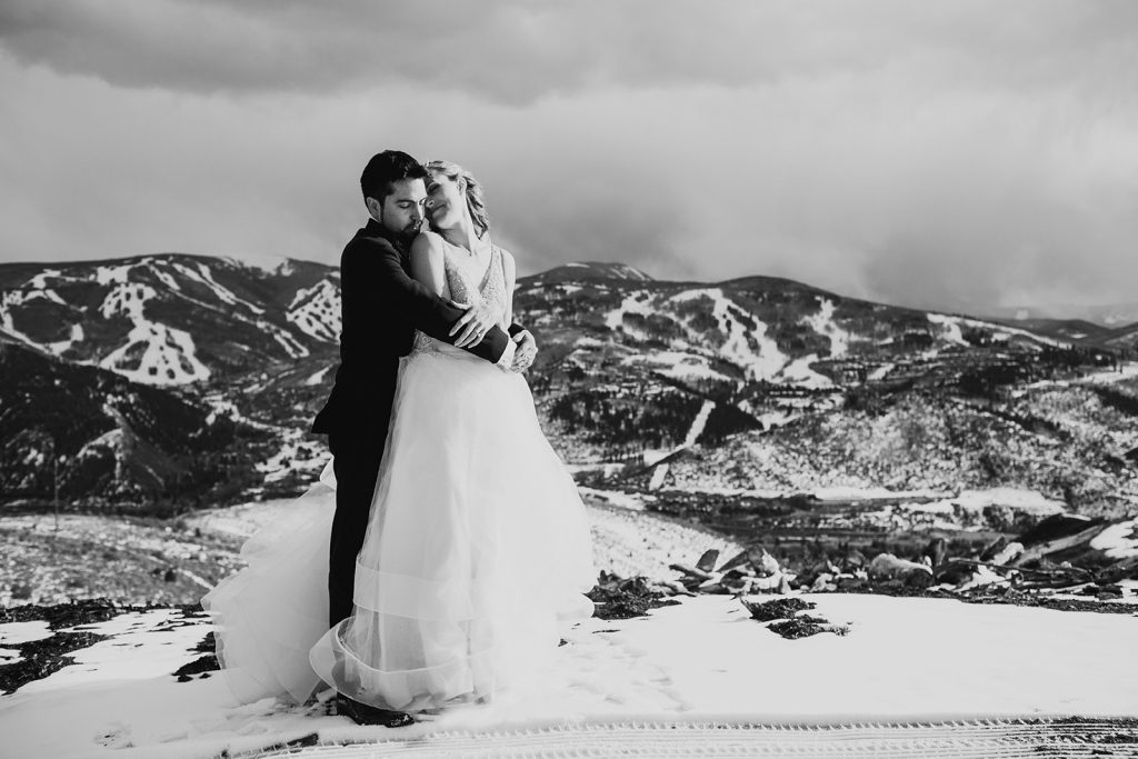 ritz carlton avon Colorado wedding photos