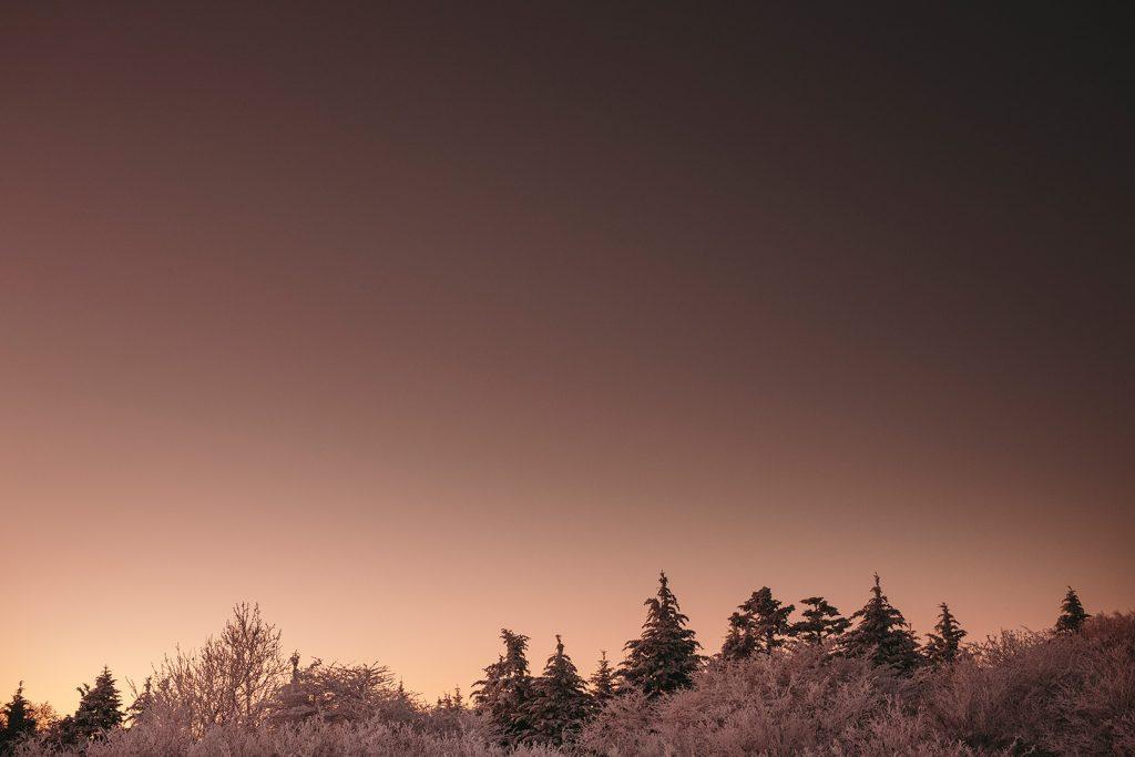roan mountain winter photos