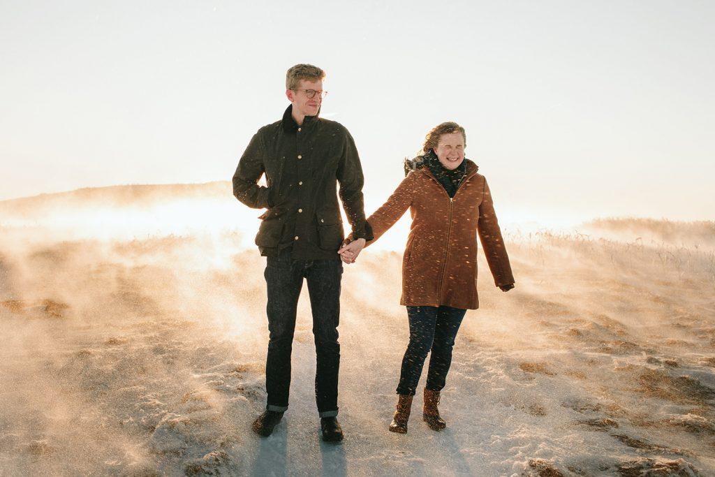 roan mountain winter elopement
