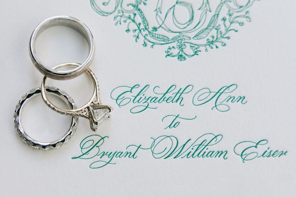 turquoise wedding invites